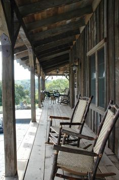 like this old rustic porch