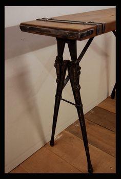 Console table. via Etsy.