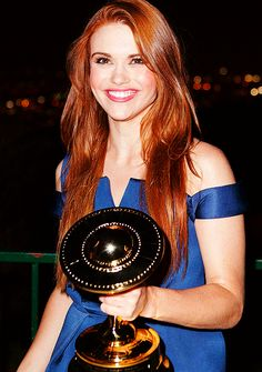 Holland Roden at the 40th Annual Saturn Awards