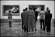 Elliott Erwitt - Museo del Prado, Madrid, España, 1995