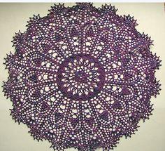 Crochet doily. Design by Patricia Kristoffersen