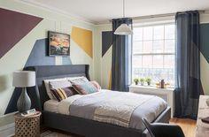 Pinturas criativas para as paredes renovam a decoração da sua casa - Blog de Decoração - Reciclar e Decorar