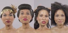 Watch 100 Years of Black Beauty Evolve in One Mesmerizing Minute - Mic