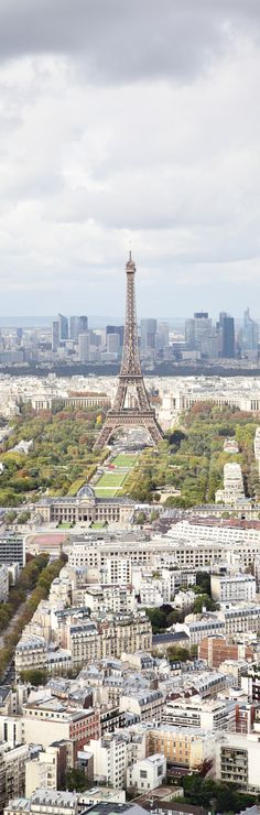 Aerial View, Paris France