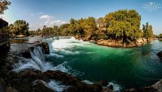 Manavgat waterfall by Recep Elal on 500px