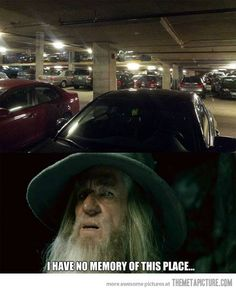 Gandalf the Grey - ''I have no memory of this place.''