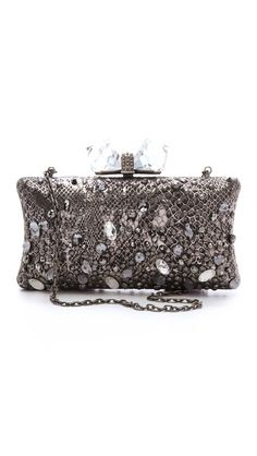 "Overture Judith Leiber ""Vanessa"" clutch:  I generally think Judith Leiber is a bit gaudy, but I love this bag!!"