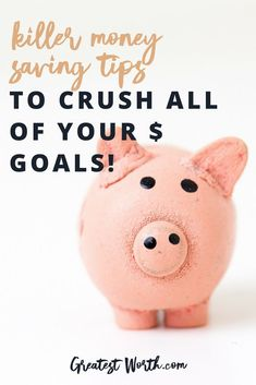 No matter what, use these money saving tips to start crushing your money go Best Money Saving Tips, Money Saving Challenge, Ways To Save Money, Money Tips, Saving Money, Money Savers, Investing Money, Budgeting Finances, Budgeting Tips