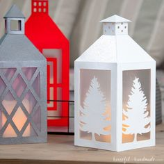 Decorate your farmhouse on a budget with these popular DIY paper lanterns. They are easy to make and you can make them match any home decor.