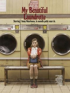 "Duchess Dior: ""My Beautiful Laundrette"" Immy Waterhouse for Jalouse France April 2015"