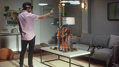 Microsoft brings augmentedreality into everyday life through HoloLens.