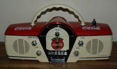 Vintage Coca Cola Classic Radio More