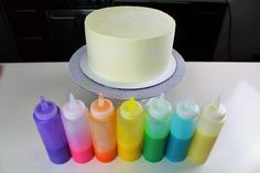I've been asked several times about what the colorful drips are on my cakes, and I figured it's time for me to post the recipe I use. If you'd like to see my full tutorial, you ca…