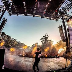 @G_Eazy is on fire! Listen to his new albumWhen It's Dark Out by following the link in his profile and watch the GoPro video from this performance at gopro.com/channel. Photo & video by @mishavladimirskiy.  #WhenItsDarkOut #GoProMusic #OutsideLands