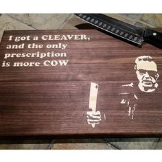 Make Chopping Fun with These Pop Culture Pun Cutting Boards #FWx