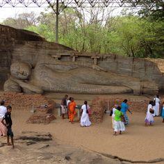 Incredible Sri Lanka...Reclining Buddha