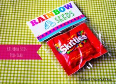 Detail-Oriented Diva!: Rainbow Seeds: Free Printable