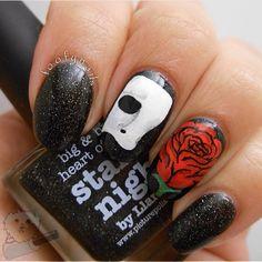foofynails phantom of the opera #nail #nails #nailart