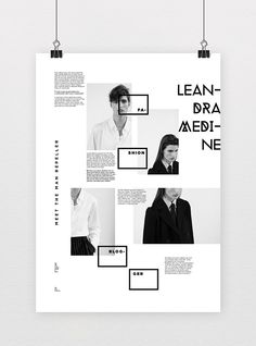 Informative Poster System on Behance