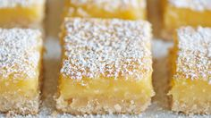 Lemon Bars, sugar free made with Truvia. (Revise for Low Carb.)