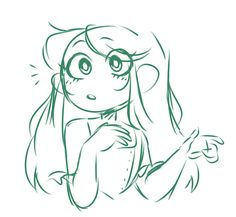 Eliza by Galactibun Art Drawings Sketches, Cartoon Drawings, Cool Drawings, Cute Art Styles, Cartoon Art Styles, Drawing Expressions, Art Inspiration Drawing, Art Poses, Drawing Base
