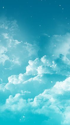 Fantasy Cloudy Space #iPhone #5s #Wallpaper