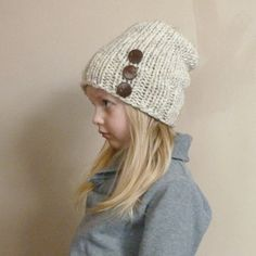 Hey, I found this really awesome Etsy listing at https://www.etsy.com/listing/113065229/toddler-slouch-hat-in-wheat-with-three