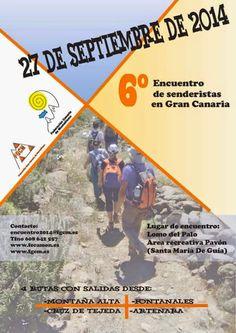 CAMINATAS EN GRAN CANARIA: Abierto el plazo de inscripción para la caminata: ...