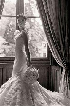 Model Weddings:  Coco Rocha married James Conran wearing Zac Posen, June 9th, 2010