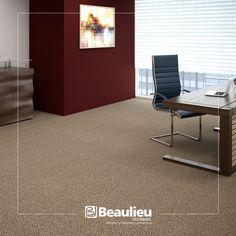 Conforto para você, elegância para seu escritório.😉    #beaulieudobrasil #carpete #essex #decor #design #solução #praticidade