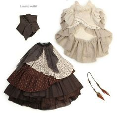 Best 11 Rustic brown and white Boho Mori style dress and boots for Soom iMda doll by Nordland Dolls – SkillOfKing. Mori Fashion, Fashion Dresses, Doll Clothes Patterns, Clothing Patterns, Barbie Dress, Outfit Sets, Fashion Dolls, Nice Dresses, Cool Outfits