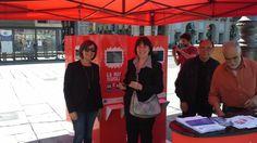 Torino, in Piazza Castello, 24 aprile Torino