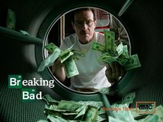 """This image released by AMC shows Bryan Cranston as Walter White laundering money in the pilot episode of """"Breaking Bad."""" The series finale o. Breaking Bad Season 1, Serie Breaking Bad, Watch Breaking Bad, Jerry Seinfeld, Kung Fu, Contagion Film, Bryan Cranston, I Am Batman, 8th Sign"""
