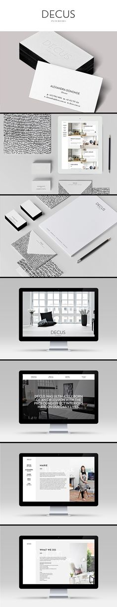 visual identity | Decus branding by Smack Bang Designs