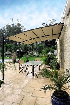 Pergola En Kit, Eisen Pergola, Mediterranean Garden, Provence, Sweet Home, Deck, Construction, Backyard, Exterior