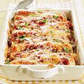 Turkey Enchiladas: Tried this and it was a winner. I actually used canned chicken for this recipe bc I was short on time and the store was out of roasted chicken/turkey. Sounds gross, but easy and delicious
