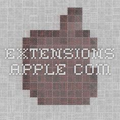 extensions.apple.com