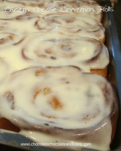Cream Cheese Cinnamon Rolls with Cream Cheese Icing-blending cream cheese into the pastry dough takes these sweet rolls to the next level