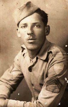 Sargento José Dias de ITAJUBÁ - MG onde fez o curso de sargento antes de embarcar para Itália.Itajubá colaborou com 55 pracinhas para a Segunda Guerra.