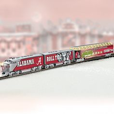University Of Alabama Crimson Tide Express Train Collection