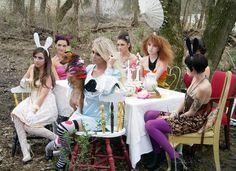 tea party idea for shoot :)
