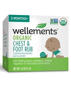 Wellements Organic Baby Chest & Foot Rub Best Skin Care Brands, Best Acne Products, Body Products, Baby Skin Care, Beauty Junkie, Tinted Moisturizer, Beauty Shop, Organic Baby, Clear Skin