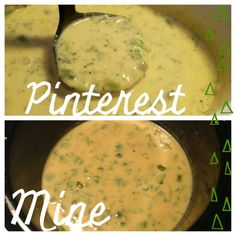 Homemade Crock Pot broccoli and cheese soup! Delicious!