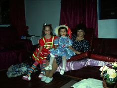 Eliane em casa de tio Geraldo 2004