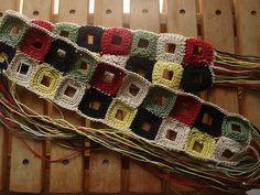 Crochet belt by chai310, via Flickr