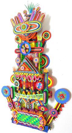 MICHAEL VELLIQUETTE  Paper, acrylic