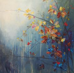 Read our exclusive interview with Sky Arts Landscape Artist of the Year 2016 Heat Five Winner Anna Perlin as she discusses her vibrant seasonal paintings and mixed media landscapes… Laurence Amelie, Iron Wall Decor, Sky Art, Autumn Art, Easy Paintings, Pastel Paintings, Mixed Media Art, Mix Media, Landscape Art