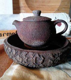 Petr Novak teapot and teaboat