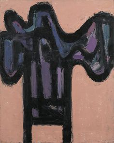 Raymond Hendler, Set (No. 1), 1958 Oil on canvas