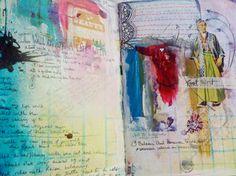 Sabrina Ward Harrison on Pinterest | Art Journals, Journal ... Sabrina Ward Harrison Sketchbook